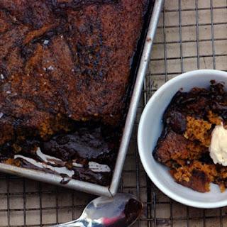 Salted Caramel-Chocolate Pudding Cake
