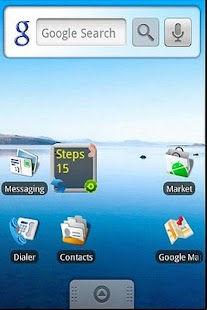 Pedometer Widget Lite - screenshot thumbnail