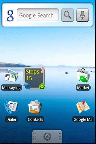 Pedometer Widget Lite - screenshot