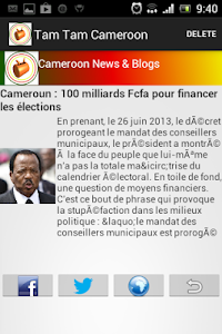 TamTam Cameroon News screenshot 2