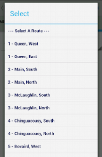Brampton Transit Tracker- screenshot thumbnail