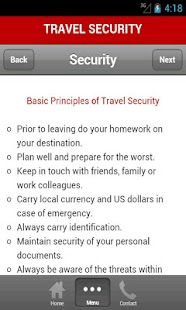 Travel Security- screenshot thumbnail