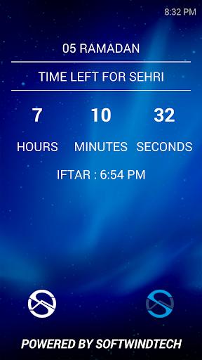 Sehri Iftar Countdown 2014