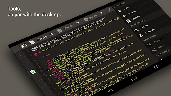 Codeanywhere - screenshot thumbnail