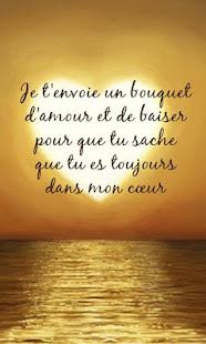 Belle Phrase En Anglais belles phrases d'amour - apps on google play