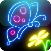 Download Glow Draw APK on PC