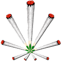 Joint (ganja) Battery Widget icon
