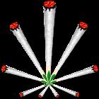Joint (ganja) Battery Widget icon