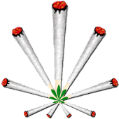Joint (ganja) Battery Widget