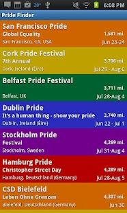 Gay Pride Finder - screenshot thumbnail