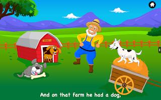 Screenshot of Old MacDonald had a Farm