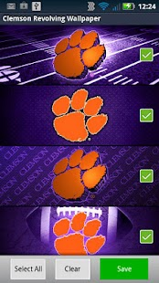 Clemson Revolving Wallpaper- screenshot thumbnail