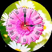 Daisy Clock Live Wallpaper