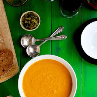 Creamy Multi Roasted Pepper Soup