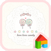 love love candy dodol theme