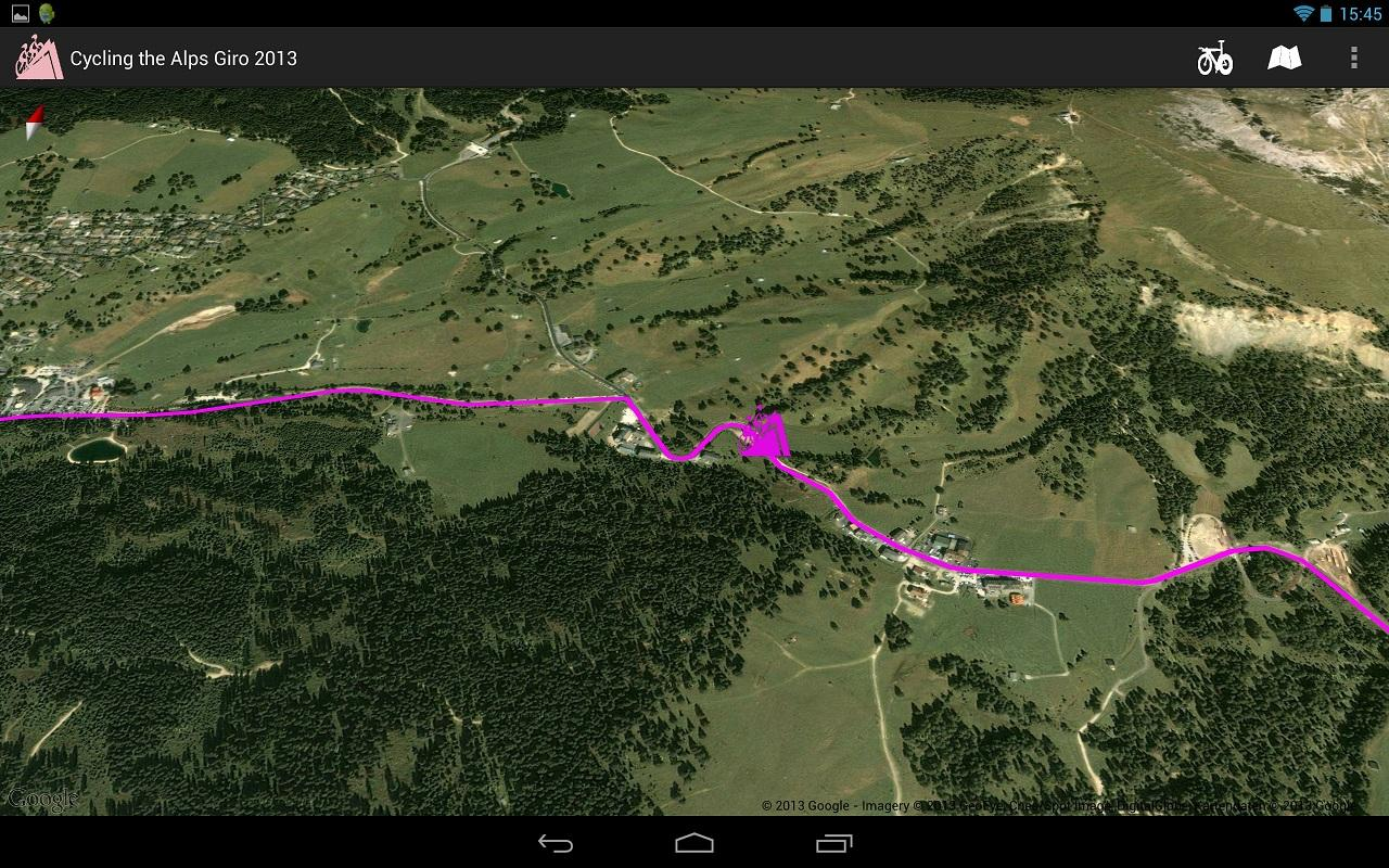 Giro d'Italia routes 2013 - screenshot