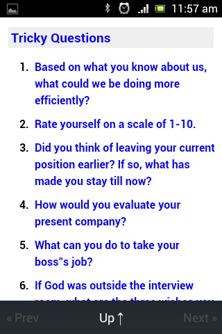 hr interview question answers screenshot - Interview Question And Answers