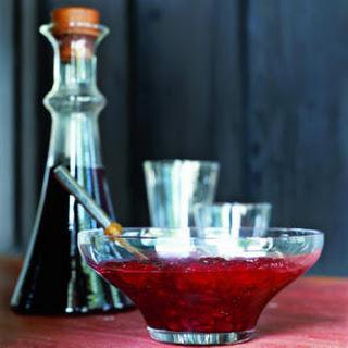 Cranberry-Mint Sauce.