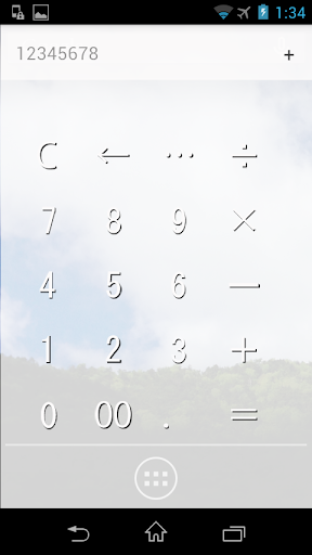 玩免費工具APP|下載Calc (ガラスのような電卓) app不用錢|硬是要APP