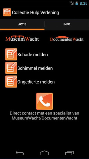 CHV - Museum- DocumentenWacht