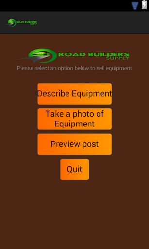 Road Builders equipment sales