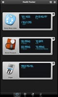 Screenshot of Health Tracker Pro for Tablets