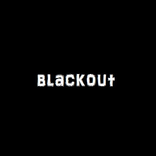 Blackout: A Study Aid LOGO-APP點子
