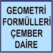 Geometri Formülleri Çember YGS