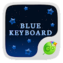 GO Keyboard Blue Night Theme icon