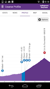 Cyclingnews Tour Tracker- screenshot thumbnail