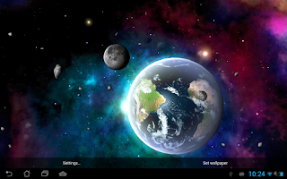 Screenshot of Solar System HD Deluxe Edition