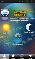 Screenshot of Astri di Paolo Fox - Oroscopo