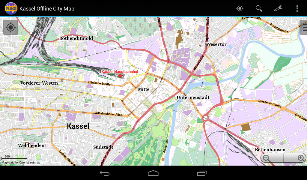 Kassel Offline City Map Android Apps on Google Play