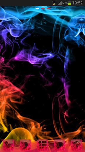 GO桌面主題煙霧顏色