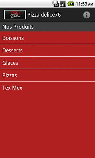 Pizza delice 76