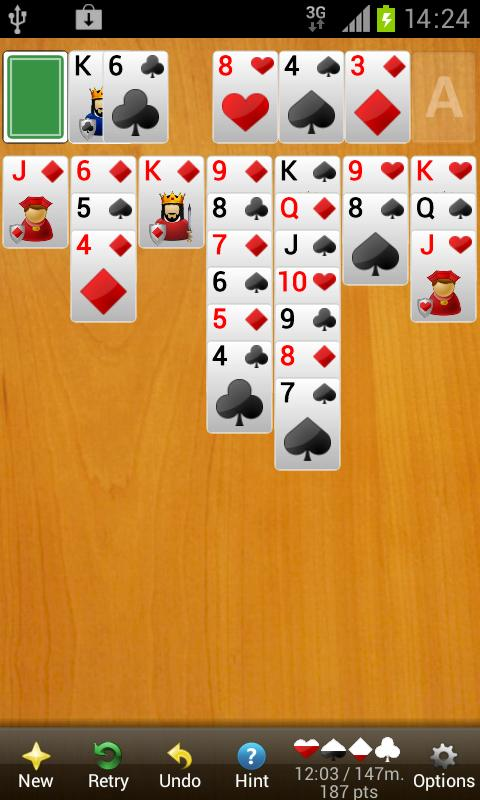 Solitaire Diamond Premium - screenshot