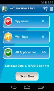 Anti Spy Mobile PRO Screenshot