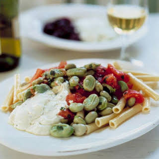 Pasta Salad with Favas.