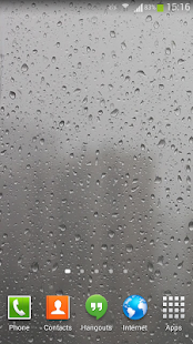 Raindrops Live Wallpaper HD- screenshot thumbnail
