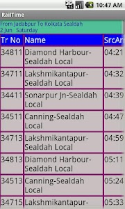 Kolkata Suburban Trains screenshot 2