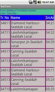 Kolkata Suburban Trains- screenshot thumbnail