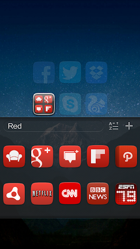 GO Launcher EX UI5.0 theme 2.08 screenshots 5