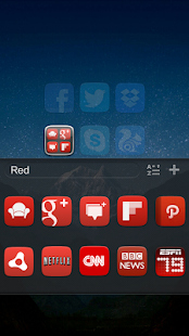 GO Launcher EX UI5.0 theme - screenshot thumbnail