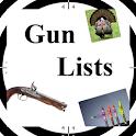 Gun Lists icon