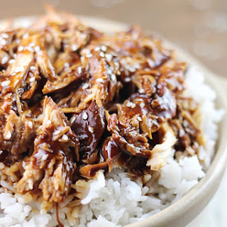Crock Pot Teriyaki Chicken.