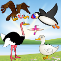 Birds Game for Toddlers Puzzle icon
