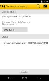 Post mobil Screenshot 5