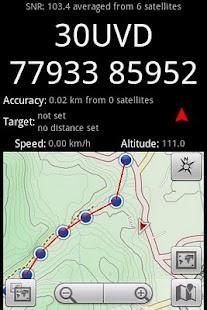 GPS Grid Reference DEMO