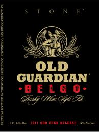 Logo of 2011 Stone Old Guardian BELGO Barley Wine