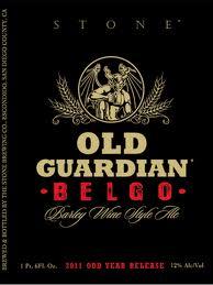 Logo of 2011 Stone Old Guardian BELGO Barley Wine